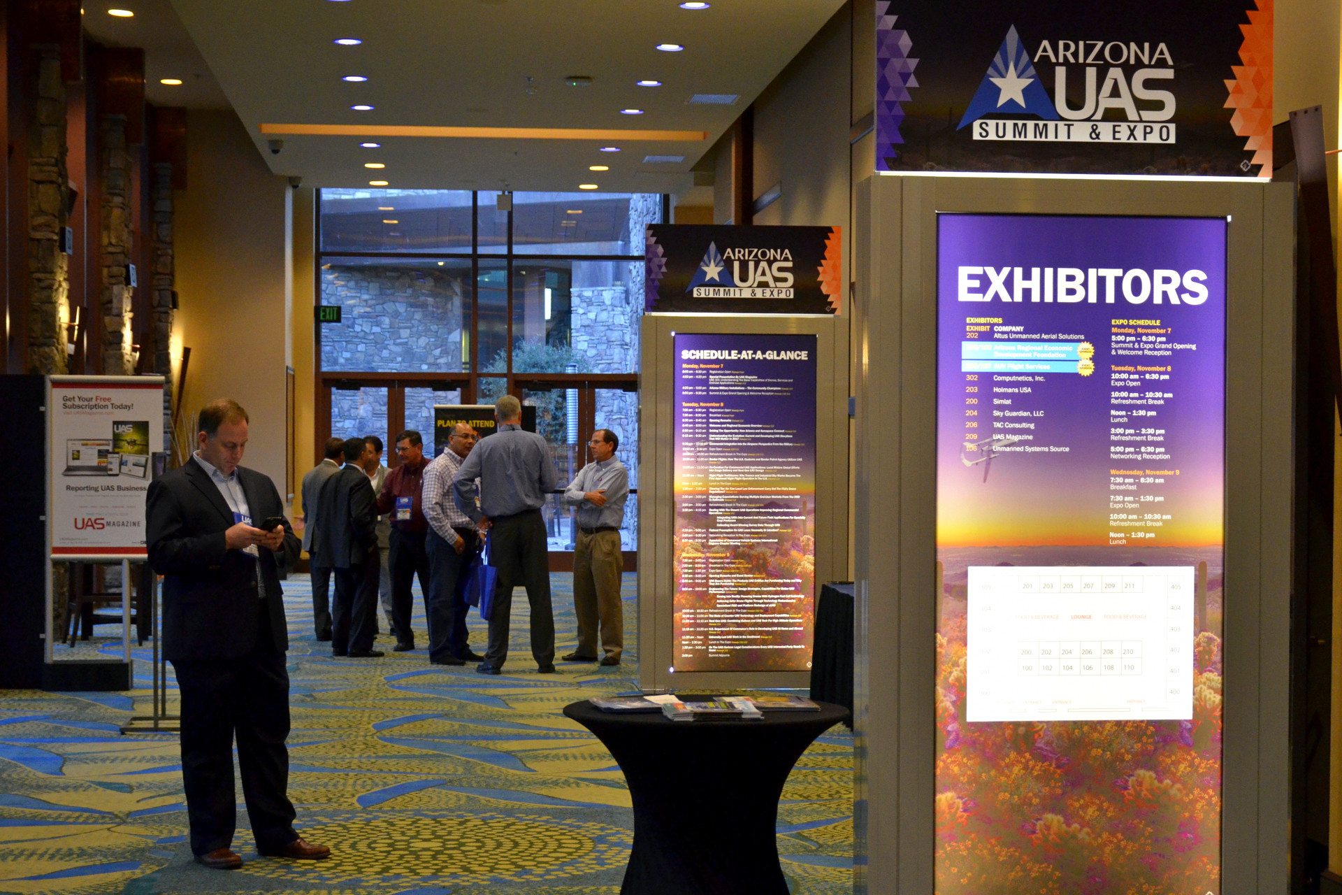 Arizona's first UAS Summit and expo held in Scottsdale, this year's summit will be in Mesa